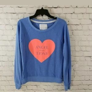 Victoria Secret Angels Graphic Print Sweatshirt XS